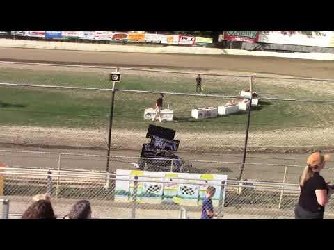 Deming Speedway, WA - Jr. Sprint Qualifying (Jayden Huppert) - June 14, 2019