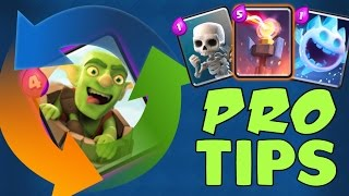Clash Royale: GOBLIN BARREL CYCLE : PRO TIPS [ElecTr1fy]