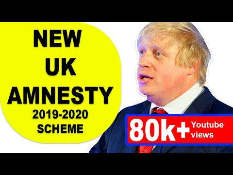 GOOD NEWS FOR UK OVERSTAYERS FROM BORIS JOHNSON |UK AMNESTY|UK IMMIGRATION|ILLEGAL MIGRANTS|2019 HD