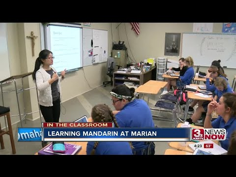In the Classroom: Learning Mandarin in high school