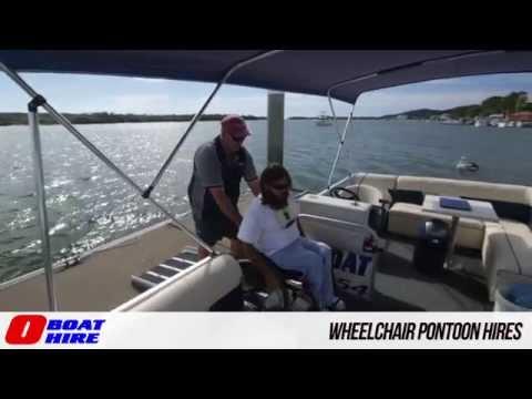 O Boat Hire - Wheelchair Pontoon