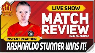 GOLDBRIDGE! RASHFORD FREE KICK STUNNER! Chelsea 1-2 Manchester United Match Reaction