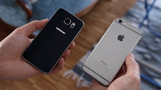 Samsung Galaxy S6 vs. Apple iPhone 6 (Deutsch)   SwagTab