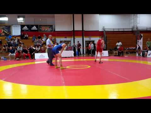 2015 Canada Cup: 61 kg Jake Hergenhein (CAN) vs. Elvir Uzunovic (CAN)