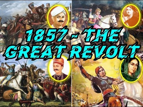 TNPSC - INDIAN HISTORY - 1857 THE GREAT INDIAN REVOLT