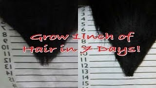 The Inversion Method | Grow 1-2 Inches of Hair in 7 Days!