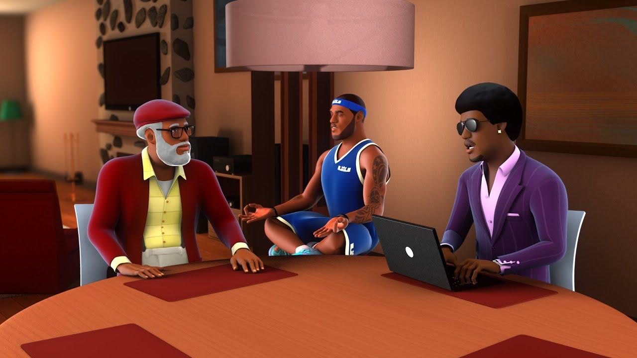 f74a1e07a1e The LeBrons Season 3 Episode 2  Mr. Connections - YouTube