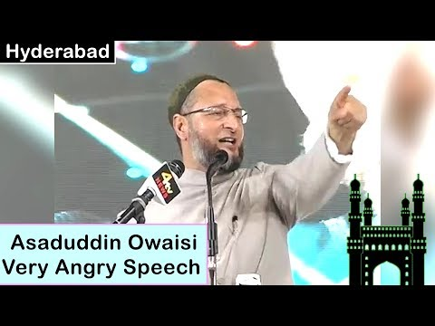 Asaduddin Owaisi Hyderabad Full Speech | 05-08-2018