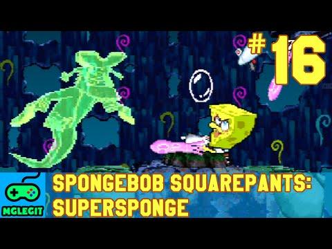 SpongeBob SquarePants SuperSponge Walkthrough Part 16 - Last Stop (PS1) (No Commentary)