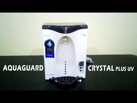 Aquaguard Crystal Plus UV Eureka Forbes Review, Purifier for Municipal corporation water in Hindi