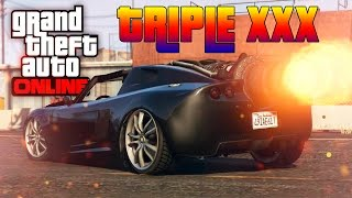 GTA V Online : TRIPLE XXX CARRO FOGUETÃO | ROCKET VOLTIC