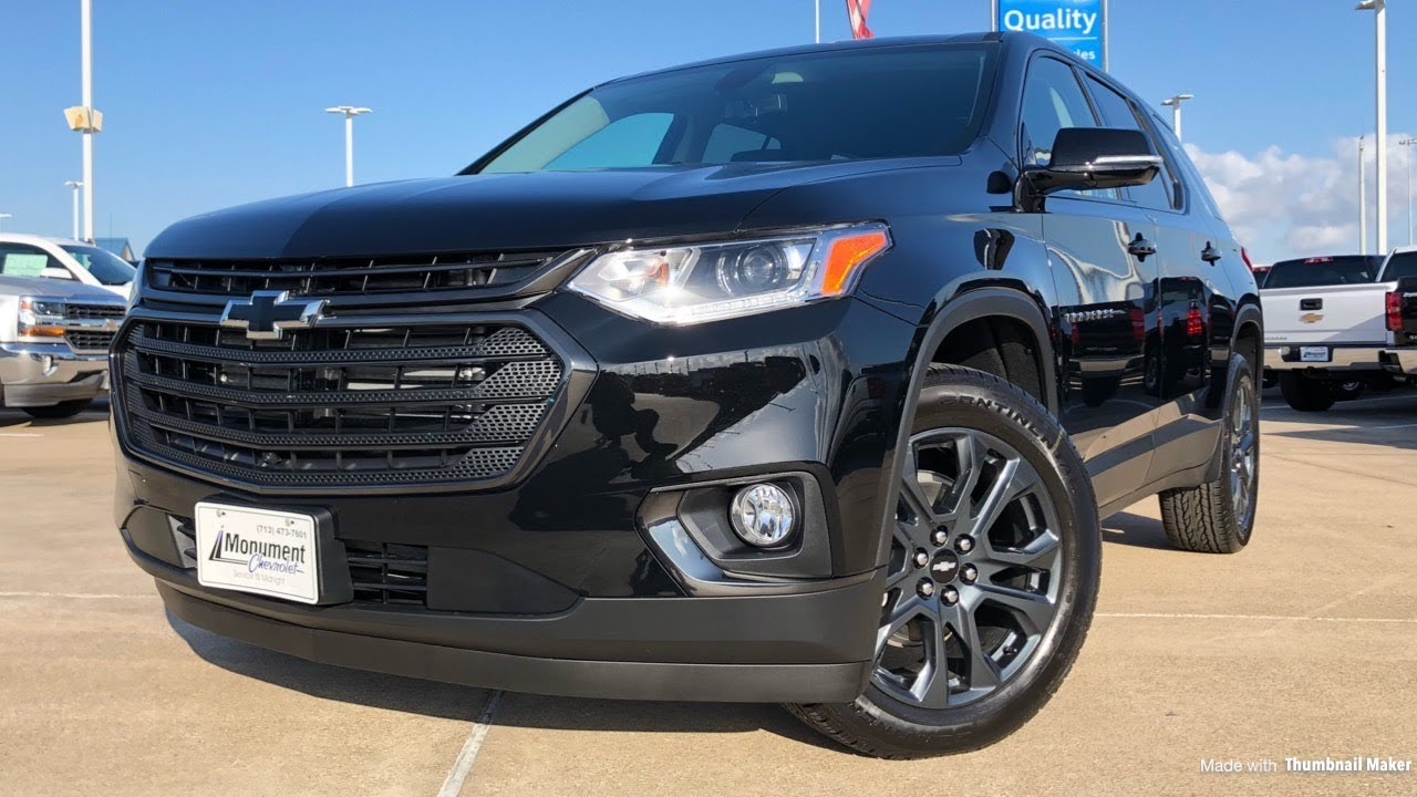 2018 Chevrolet Traverse RS (2.0L Turbo) - Review - YouTube