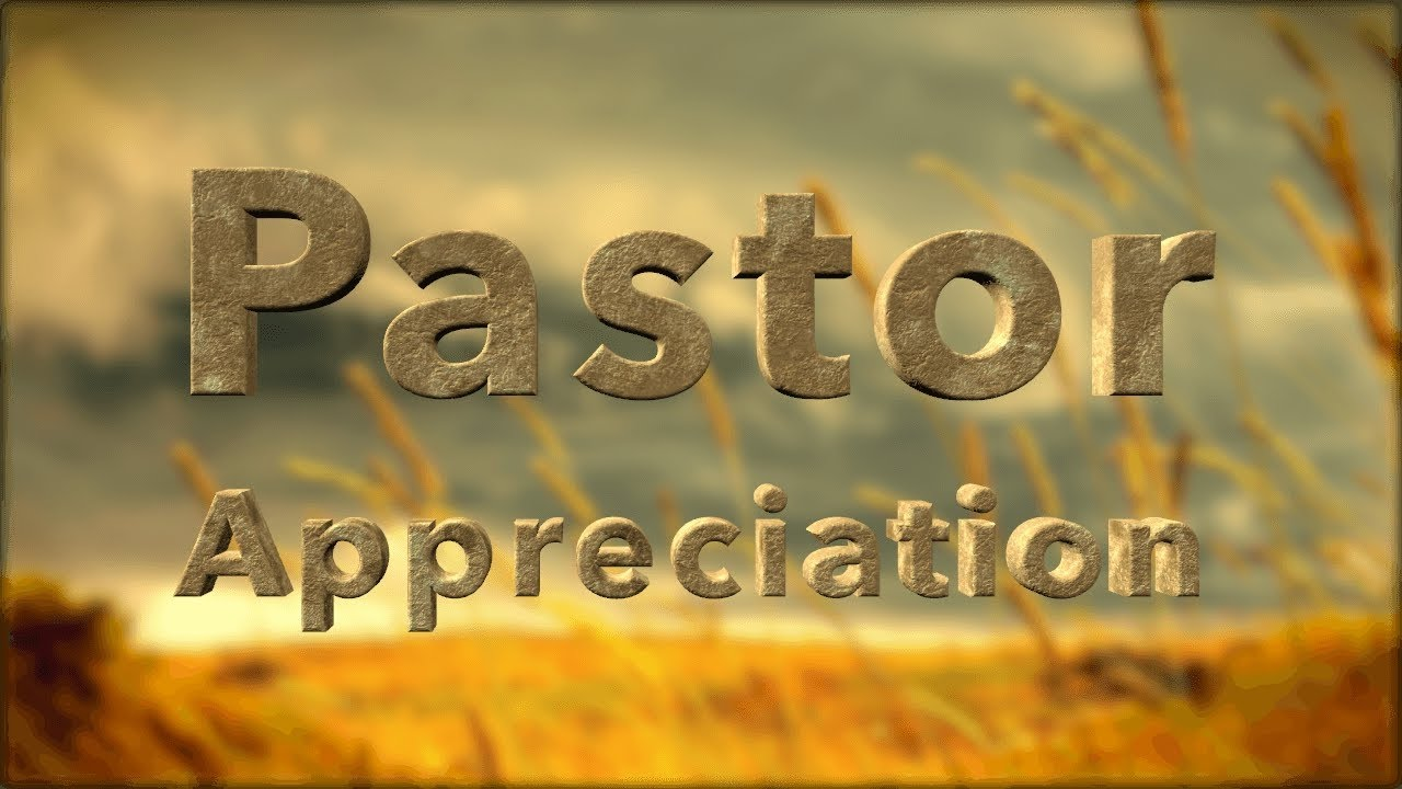 Pastor Appreciation Day 2016 - YouTube