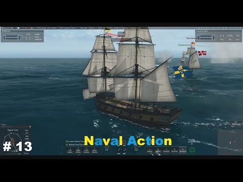 Naval Action # 13 Fleet Mission 2  # Let´s Play Deutsch German Gameplay