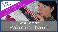 Low cost fabric haul | Including the most beautiful fabric I've EVER bought!