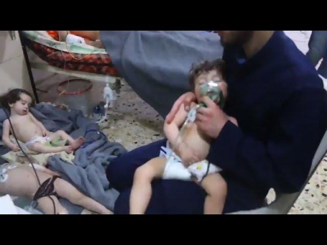 Un supuesto ataque químico en Siria deja decenas de muertos