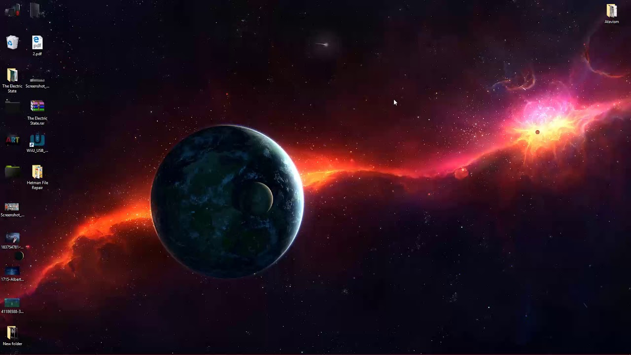 Planets Galaxy 4k Live Wallpaper Free Download