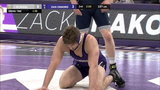197 LBS: #1 Bo Nikal (Penn State) vs. Zack Chakoni (Northwestern) | Big Ten Wrestling