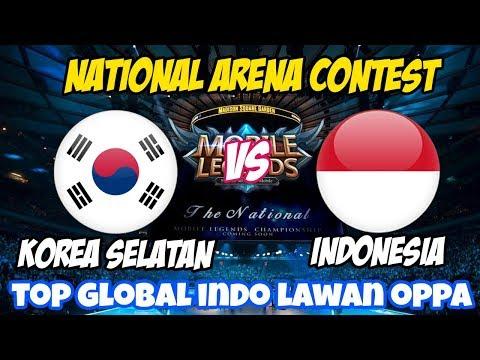 LIVE ML TROSSS !!! NATIONAL ARENA CONTEST Indonesia VS South Korea - 14 November 2019