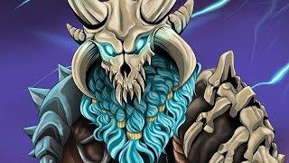 The Ragnarok skin speedpaint - Fortnite season 5