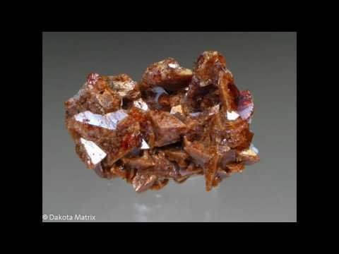 Monazit (Monazite) Mineral (Toryum minerali)