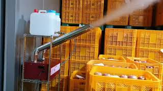 산업용 초음파가습기 - 저온창고