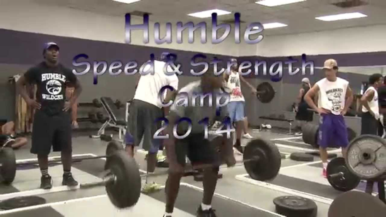 Humble High School Strength and Conditioning Camp 2014