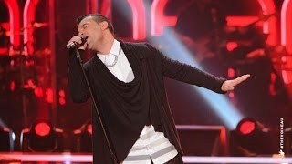 C Major sings Blurred Lines | The Voice Australia 2014