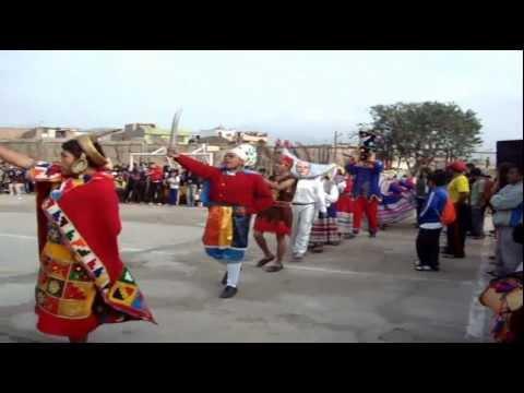 Turcos y Cacharpari - I.E.Tungasuca - Carabayllo - 2012 - 5º A