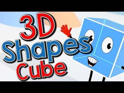 Cubie the Ice Cube | Cube Song for Kids | Jack Hartmann