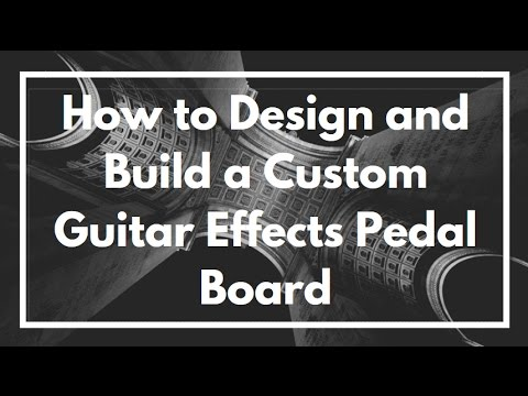 how to design build and make a custom guitar effects pedal board youtube. Black Bedroom Furniture Sets. Home Design Ideas