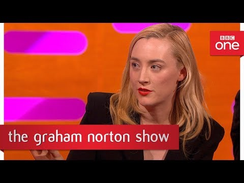Saoirse Ronan tattooed Ed Sheeran - The Graham Norton Show - BBC One