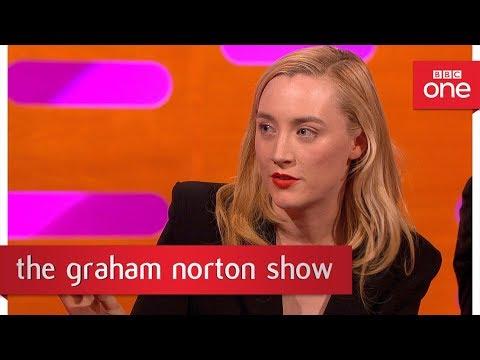 Saoirse Ronan Tattooed Ed Sheeran - The Graham Norton Show - BBC One
