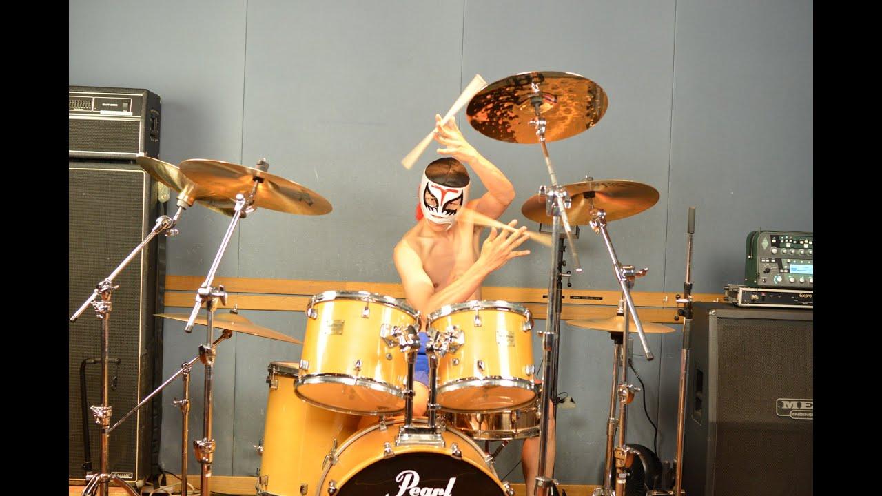 【ドラム演奏生配信】高画質!お試し配信!