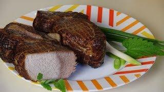 Как вкусно приготовить мясо. Корейка копчёно-запечёная.
