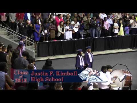 J F  Kimball Graduation 2016