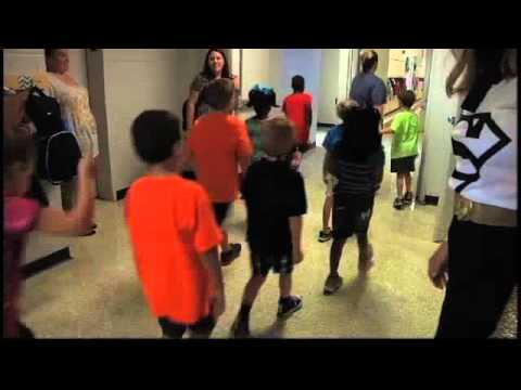 Superheroes at Saks Elementary School