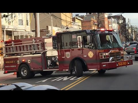 2182cb3eed2 BRAND NEW NORTH HUDSON REGIONAL FIRE   RESCUE SQUAD 1 RESPONDING FROM  QUARTERS ON 43RD ST UNION CITY