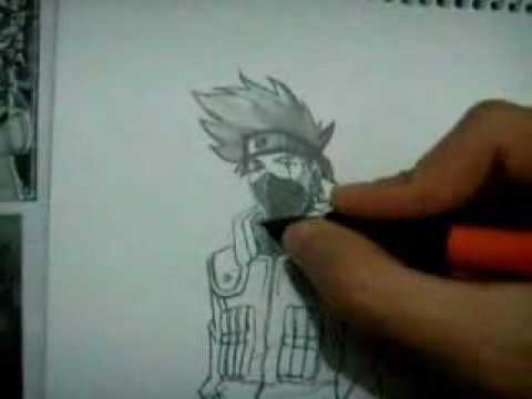 como dibujar a kakashi  YouTube