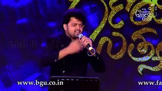 Rishi Kapoor song 'Parda hai Parda' From 'Amar Akbar Anthony' @ 56th Bengaluru Ganesh Utsava, 2018