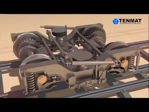 Composite Wear Parts for Passenger Rail: TENMAT RAILKO