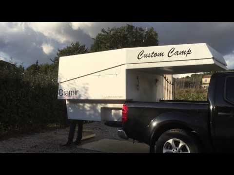 camper 4x4 gazell 39 cellule amovible funnydog tv. Black Bedroom Furniture Sets. Home Design Ideas