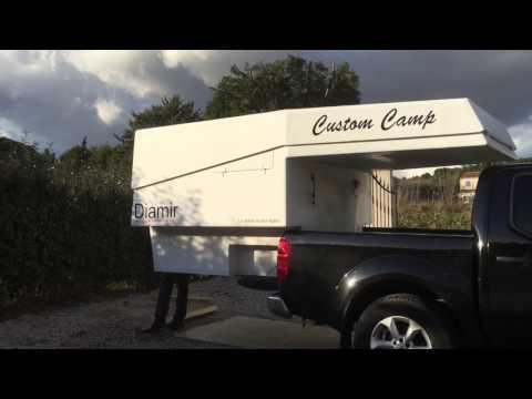 camper 4x4 gazell 39 cellule amovible funnydog tv. Black Bedroom Furniture Sets. Home Design Ideas