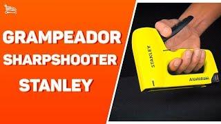 Grampeador Sharpshooter Corpo em Alumínio STANLEY - Loja do Mecânico