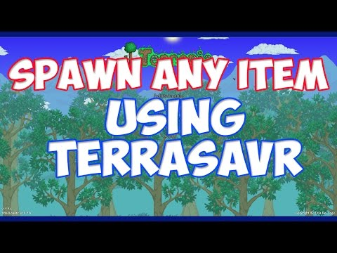 Spawn Any Item In the Game! - Using Terrasavr For Terraria 1.3.5