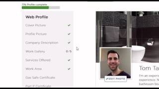 How to complete your profile