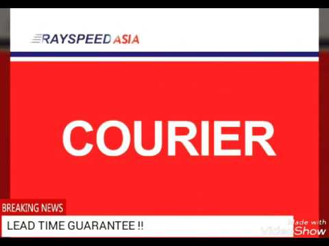PT. Rayspeed Indonesia... International Courier Service