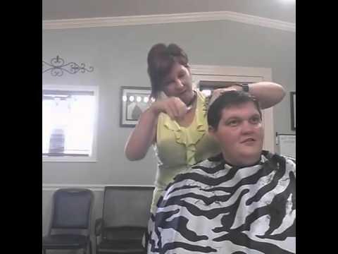 Nikki & Kayla @ the Hair Salon