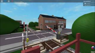 Signalling on Northern Area Level Crossing | ROBLOX