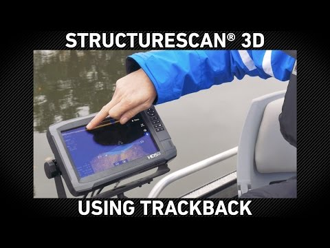 StructureScan 3D Using TrackBack